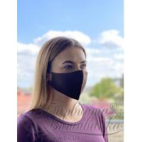 Маска для обличчя захисна багаторазова Барвиста Вишиванка, 100% льон , S (21х10х5 см)