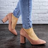 Туфли женские на каблуке розовые Beans 2131 (40 размер)