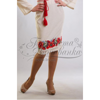 Спідничка жіноча вишита вручну хрестиком ЖС041дМнн01