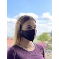 Маска для обличчя захисна багаторазова Барвиста Вишиванка, 100% льон , M (23х11х6 см)