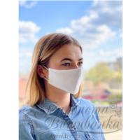 Маска для обличчя захисна багаторазова Барвиста Вишиванка, 100% льон , S (21х10х5 см) МА004лБ2103_054