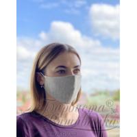 Маска для обличчя захисна багаторазова Барвиста Вишиванка, 100% льон , S (21х10х5 см) МА004лГ2103_039