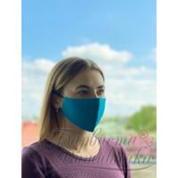 Маска для обличчя захисна багаторазова Барвиста Вишиванка, 100% льон , S (21х10х5 см) МА004лЗ2103_201