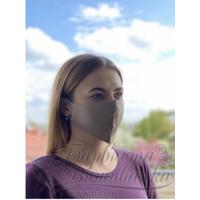 Маска для обличчя захисна багаторазова Барвиста Вишиванка, 100% льон , S (21х10х5 см) МА004лК2103_004