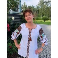 Буковинская вышиванка женская. ручная работа
