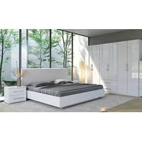 Біла модульна спальня Фемілі, посекційна