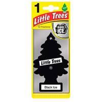 Освежитель воздуха Little Trees и quot, Черный лед и quot, 5гр (78092)