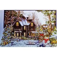 Схема Дом зимой