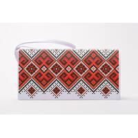 Набор для вишивки нитками Барвиста Вишиванка заготівлі зшитого клатча Берегиня (КЛ120лБ1301i)