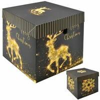 Коробка подарочная новогодняя 10 см