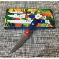 Нож кухонный с цветной ручкой