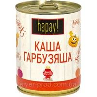 """Hapay! Каша тыквенная с рисом """"Гарбузяша"""" же/бы 340г """"Здорово"""" ключ (1/16)"""