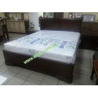 Деревянная кровать Луи Филиппе