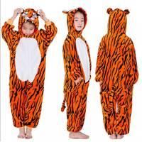 Детская пижама кигуруми Тигр 120 см