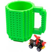 Кружка Lego брендовая 350мл Green