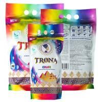 Порошок пральний безфосфатний TRONA Color, 0,5 кг