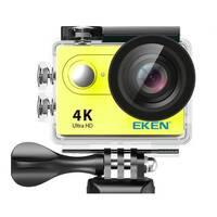 Action Camera Eken H9R Ultra HD с пультом (Желтый)