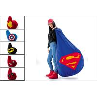 Кресло мешок груша Superman