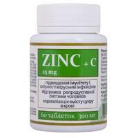 Цинк актив Zinc + C Витера Украина 60 таблеток