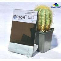 Полікарбонат монолітний Soton (Сотон), бронзовий 3 мм 2,05*3,05м