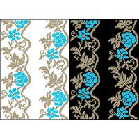 Схема для вишивки бісером на водорозчинному клейовому флізеліні Барвиста Вишиванка Канва з нанесеним малюнком 20х30 (ФЛ064гн2030)