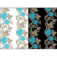 Схема для вишивки бісером на водорозчинному клейовому флізеліні Барвиста Вишиванка Канва з нанесеним малюнком 20х30 (ФЛ063гн2030)