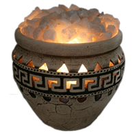 Соляная лампа третьего уровня Амфора 23 кг Ваше здоровье