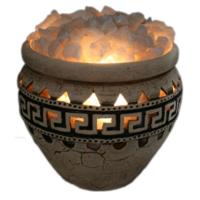 Соляная лампа третьего уровня Амфора большая 55 кг Ваше здоровье
