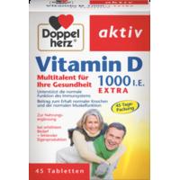 Витамин D 1000 МО 45 таблеток Doppel Herz