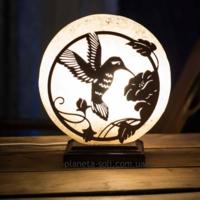 Соляная лампа Колибри 190 *190 *60 Планета соли