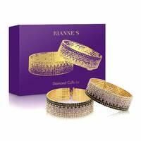Лакшери наручники-браслети з кристалами Rianne S : Diamond Cuffs, подарункова упаковка