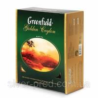"""Чай """"Грінфілд"""" 100п*2г Черный Golden Ceylon КАРТОН (1/9)"""
