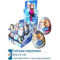 *NEW_YEAR Aras Шоколадное яйцо из драже Снежная Королева 25г*24шт