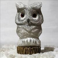 """Соляной светильник """"Филин"""" средний 2,5-2,8 кг SALIERY"""