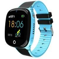Детские смарт- часы Lemfo HW11 Aqua Plus с камерой и GPS отслеживанием (Синий)