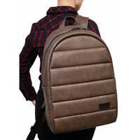 Жіночий рюкзак унисекс Sambag Zard LRT світло-коричневий нубук