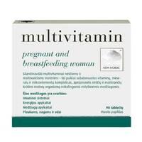 Мультивитамины для беременных и кормящих женщин 90 т.New Nordic