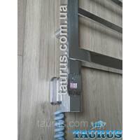 ЭЛЕКТРОТЭН Heatpol H E chrome D- форма: регулювання 10-65c   таймер 1-9ч. Під розетку. Польща 1/2' Білий