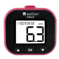 Глюкометр для измерения уровня глюкозы в крови Calla Light blackberry WELLION