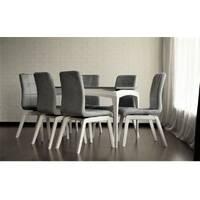Кухонний розкладний стіл Наві софт зі стільцями дерево