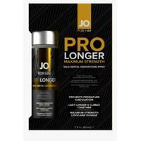 Пролонгуючий спрей System JO Prolonger Spray with Lidocaine (60 мл), не містить мінеральних олій