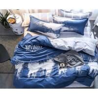 Полуторный комплект постельного белья из бязи голд