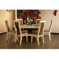 Розкладний овальний стіл Версаль зі стільцями Марек 3