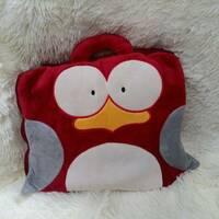 Дитячий плед сумочка Пінгвін