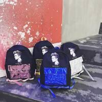 STK Рюкзак с голограммным карманом