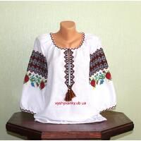 Буковинська вишиванка жіноча ручної роботи