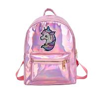 STK рюкзак Голограми з однорогом рожевий