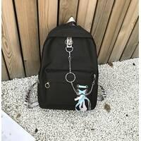 STK Рюкзак с лентами черный
