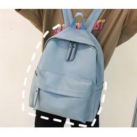 STK Рюкзак голубой из кожзама