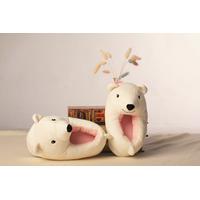 STK Тапочки Білі ведмеді, розмір універсальний 27-28